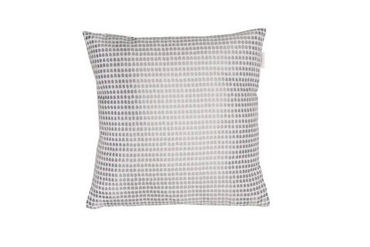 KISSENHÜLLE Anthrazit, Hellgrau 38/38 cm - Anthrazit/Hellgrau, Basics, Textil (38/38cm) - Esprit