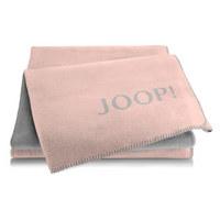 WOHNDECKE 150/200 cm Altrosa, Graphitfarben - Altrosa/Graphitfarben, Textil (150/200cm) - Joop!