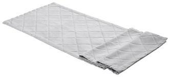 TISCHLÄUFER Textil Chenille Silberfarben 40/140 cm  - Silberfarben, Design, Textil (40/140cm) - Ambiente