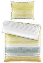 BETTWÄSCHE 140/200 cm - Gelb/Weiß, KONVENTIONELL, Textil (140/200cm) - Novel
