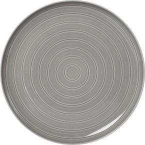 MATTALLRIK - grå, Design, keramik (27cm) - Novel