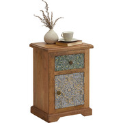 KOMMODE - Multicolor/Braun, Trend, Holz/Holzwerkstoff (43/60/32cm) - Ambia Home