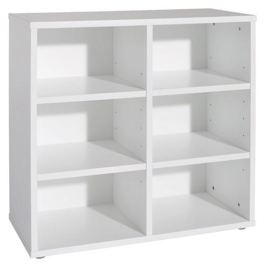 REGAL Weiß - Weiß, Design (83,9/79,7/40cm) - PAIDI