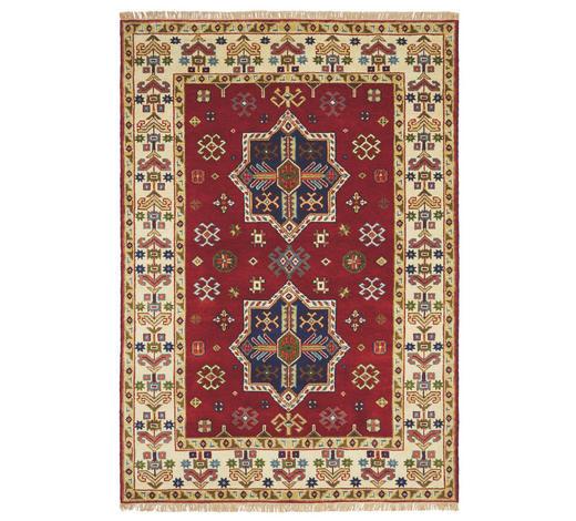 KOBEREC ORIENTÁLNÍ, 70/140 cm, krémová, červená - krémová/červená, Lifestyle, textil (70/140cm) - Esposa