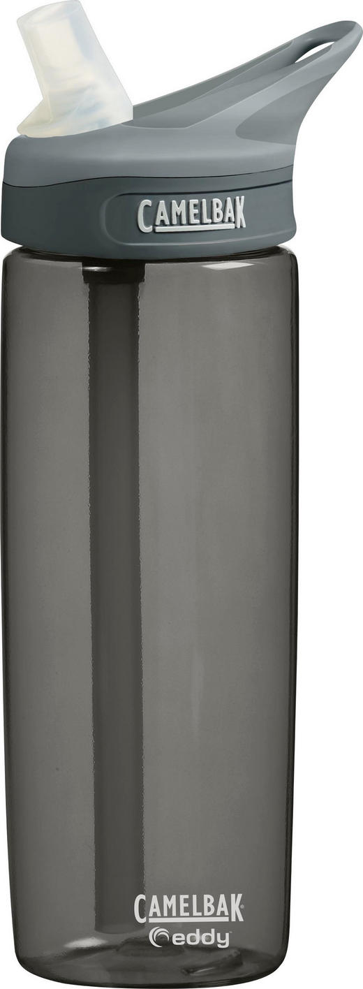 TRINKFLASCHE 0,6 - Dunkelgrau, Design, Kunststoff (0,6l)