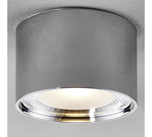 LED-DECKENLEUCHTE   - Chromfarben, Design, Metall (11,3/8cm)