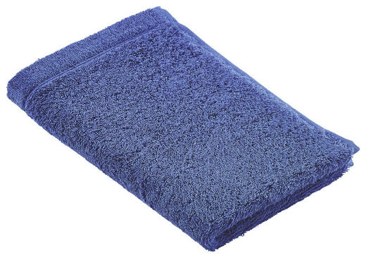 GÄSTETUCH Blau 30/50 cm - Blau, Basics, Textil (30/50cm) - Cawoe