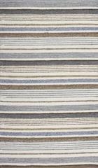 HANDWEBTEPPICH 60/110 cm - Braun/Grau, KONVENTIONELL, Textil (60/110cm) - Linea Natura