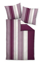 BETTWÄSCHE Biber Lila 135/200 cm - Lila, Textil (135/200cm) - Janine