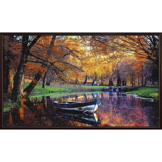 Landschaft & Natur GYCLEÉ - Multicolor, LIFESTYLE, Holz/Kunststoff (120/70cm) - Monee