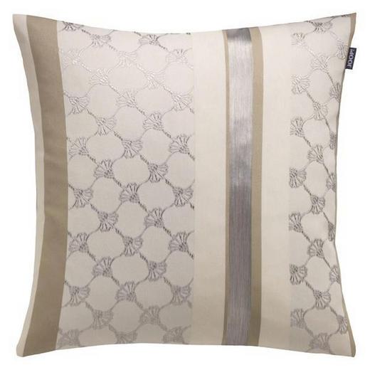 KISSENHÜLLE Beige, Braun, Creme 50/50 cm - Beige/Creme, Textil (50/50cm) - Joop!