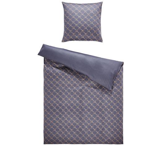 Bettwäsche Makosatin Grau Silberfarben 135200 Cm