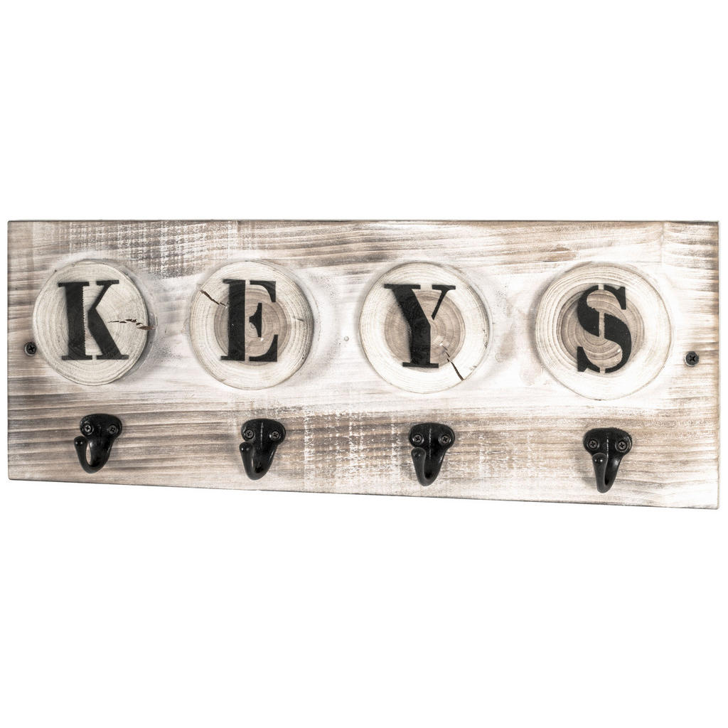 XXXLutz Schlüsselboard tanne massiv schwarz