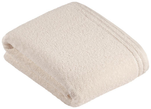 BADETUCH 100/150 cm - Beige/Creme, Basics, Textil (100/150cm) - VOSSEN