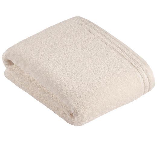 BADETUCH - Beige/Creme, Basics, Textil (100/150cm) - Vossen