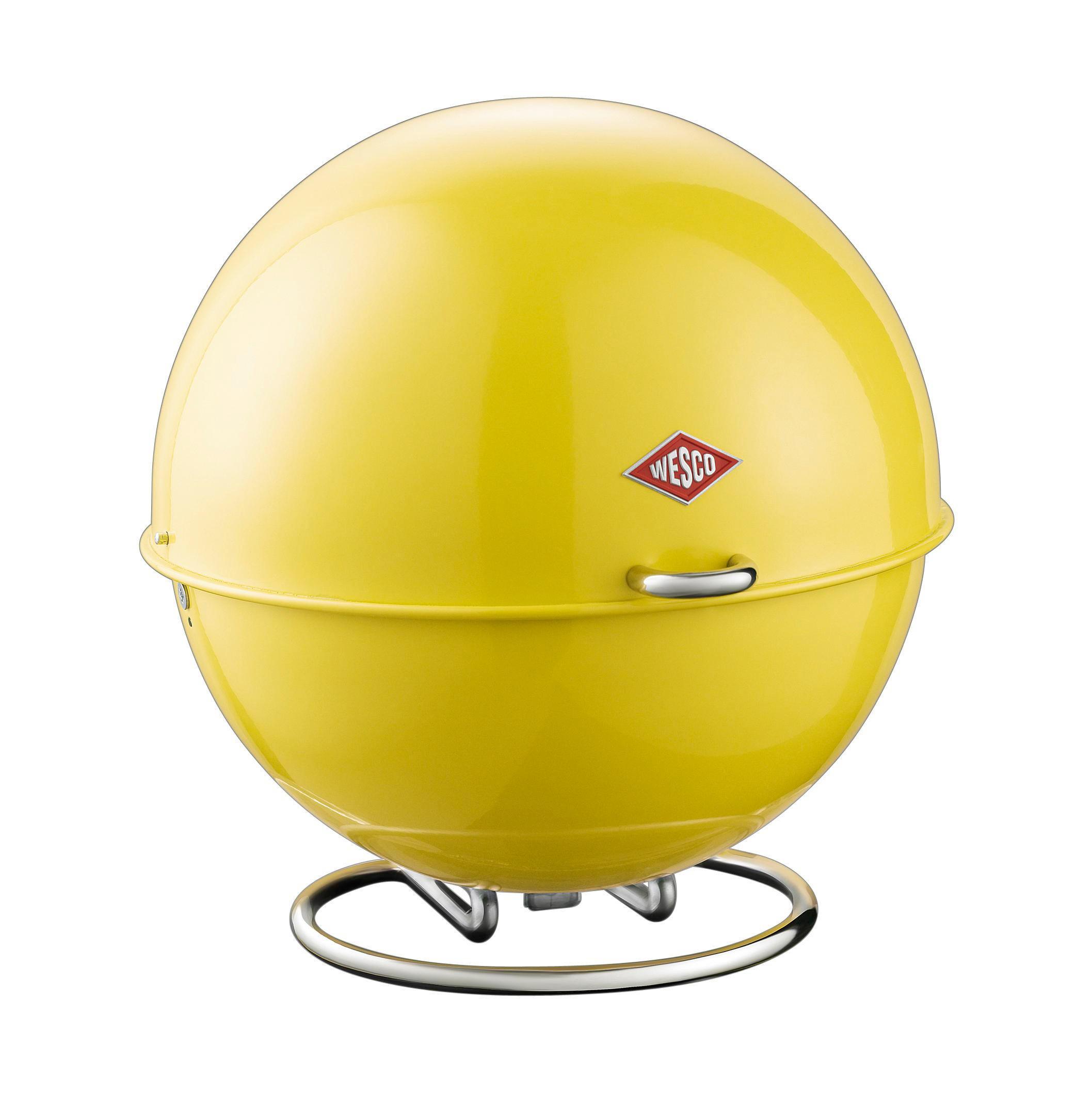 AUFBEWAHRUNGSBOX - Gelb, Basics, Metall (26/26/26cm) - WESCO