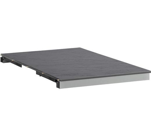 EINLEGEPLATTE - Anthrazit, Design, Kunststoff/Metall (60/94cm) - Kettler HKS