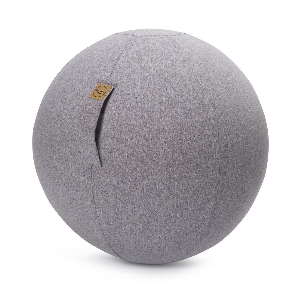 XXXLutz Sitzball filz uni grau