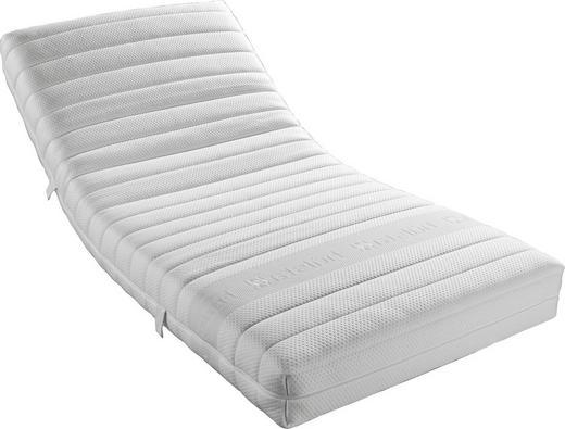 KALTSCHAUMMATRATZE 90/200 cm - Weiß, Basics, Textil (90/200cm) - HÜLSTA