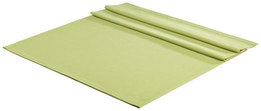 TISCHDECKE Textil Leinwand, Struktur Grün 140/180 cm - Grün, Basics, Textil (140/180cm) - Novel