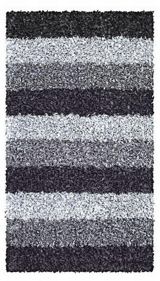 BADTEPPICH  Schieferfarben  60/100 cm - Schieferfarben, Kunststoff/Textil (60/100cm) - KLEINE WOLKE