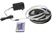 LED-STRIP  - Multicolor/Schwarz, Basics, Kunststoff/Metall (300cm) - Boxxx