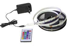 LED-STRIP   - Multicolor/Schwarz, Design, Kunststoff/Metall (300cm) - Boxxx