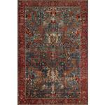 VINTAGE-TEPPICH Azeri Antique  - Blau/Rot, LIFESTYLE, Textil (130/190cm) - Novel