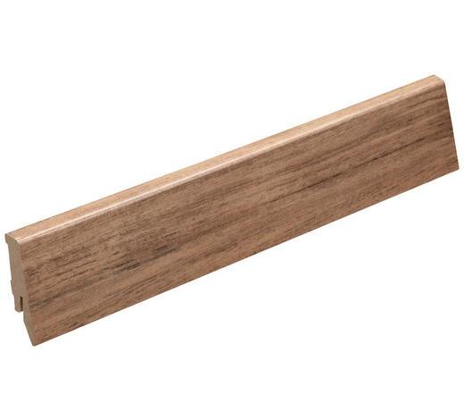 LIŠTA SOKLOVÁ  (za kus) - barvy dubu, Basics, kompozitní dřevo (2400mm) - Venda
