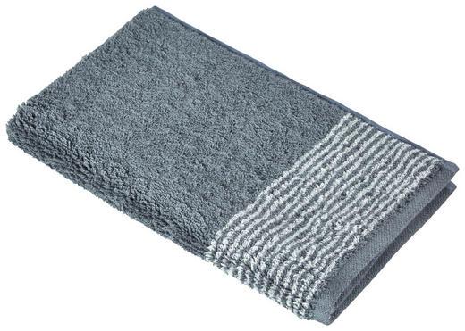 GÄSTETUCH 30/50 cm - Schieferfarben, KONVENTIONELL, Textil (30/50cm) - Cawoe