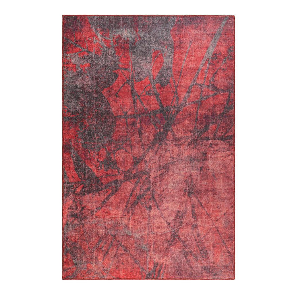 Tkaný Koberec 120/170 Cm Červená Červenohnědá Esprit - červená červenohnědá