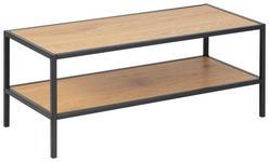 SCHUHREGAL 77,0/32,0/35,0 cm  - Eichefarben/Schwarz, Trend, Holzwerkstoff/Metall (77,0/32,0/35,0cm) - Carryhome