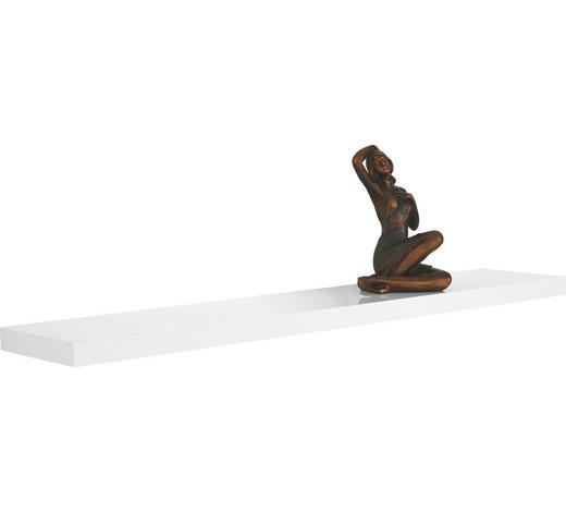 WANDBOARD Weiß  - Weiß, Design (118/3,8/23,5cm)
