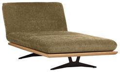 OTTOMANE in Holz, Textil Hellgrün  - Schwarz/Hellgrün, Design, Holz/Textil (114/92/165-218cm) - Dieter Knoll