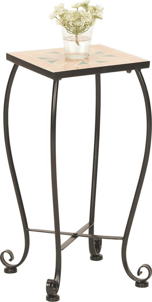 AVLASTNINGSBORD - grön/svart, Lifestyle, metall/keramik (25/52/25cm) - BOXXX