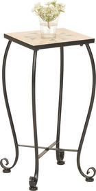 ODKLÁDACÍ STOLEK - černá/zelená, Lifestyle, kov/keramika (25/52/25cm) - Boxxx