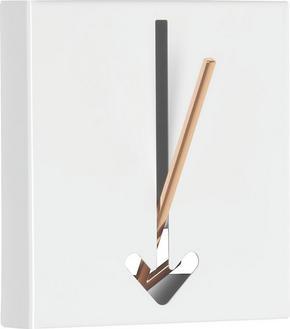 KROK - vit/guldfärgad, Design, metall (16,4/17/2,8cm)