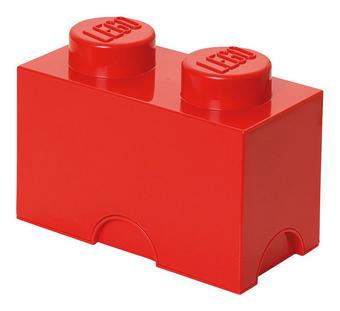 AUFBEWAHRUNGSBOX 25/12,5/18 cm - Rot, Trend, Kunststoff (25/12,5/18cm) - Lego