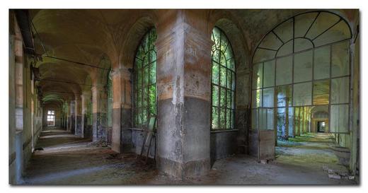 "Architektur BILD ""ONLY THE LONELY LOVE"" - Multicolor, Basics, Holzwerkstoff/Kunststoff (150/75cm) - Wiedemann"