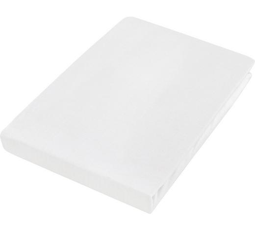 SPANNLEINTUCH 180/200 cm - Weiß, Basics, Textil (180/200cm) - Boxxx