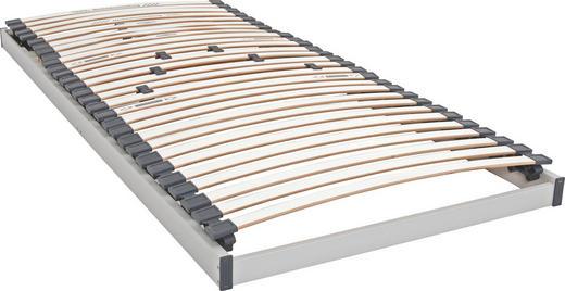 LATTENROST  90/200 cm  Birke Echtholz - Birkefarben/Weiß, Basics, Holz (90/200cm) - SLEEPTEX