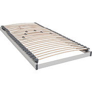 LATTENROST 120/200 cm   Birke Echtholz  - Blau/Silberfarben, Basics, Holz (120/200cm) - Sleeptex