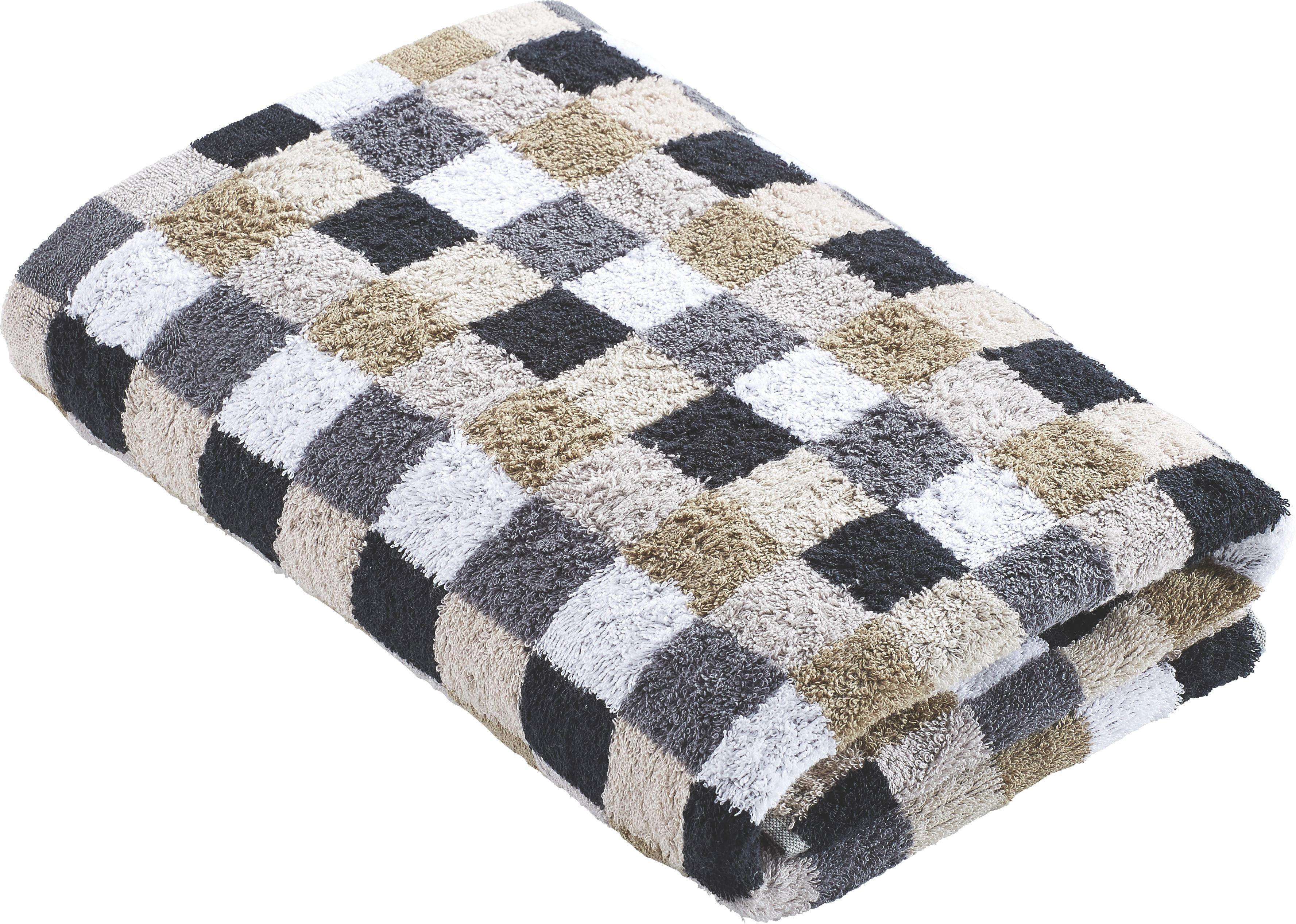 DUSCHTUCH 70/140 cm - Grau, Basics, Textil (70/140cm) - CAWOE