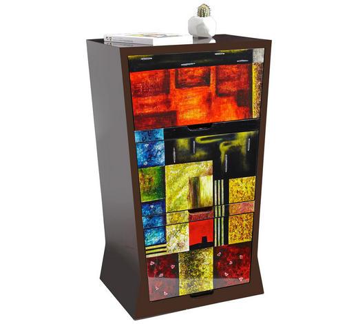 KOMMODE 60/96/40 cm - Multicolor, Design, Holz/Holzwerkstoff (60/96/40cm) - Xora