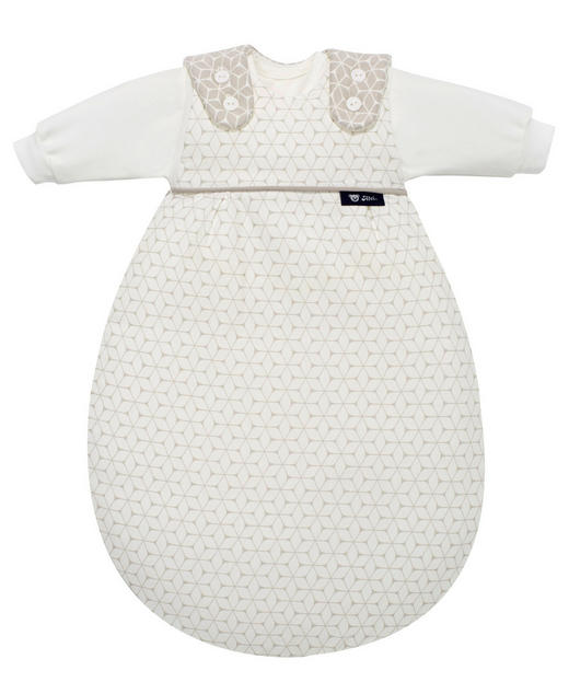 BABYSCHLAFSACKSET - Taupe, Basics, Textil (68/74) - Alvi