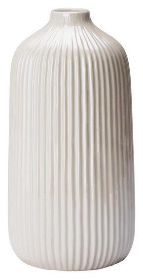 VAS - vit, Design, keramik (10,5/21,5cm) - Ambia Home