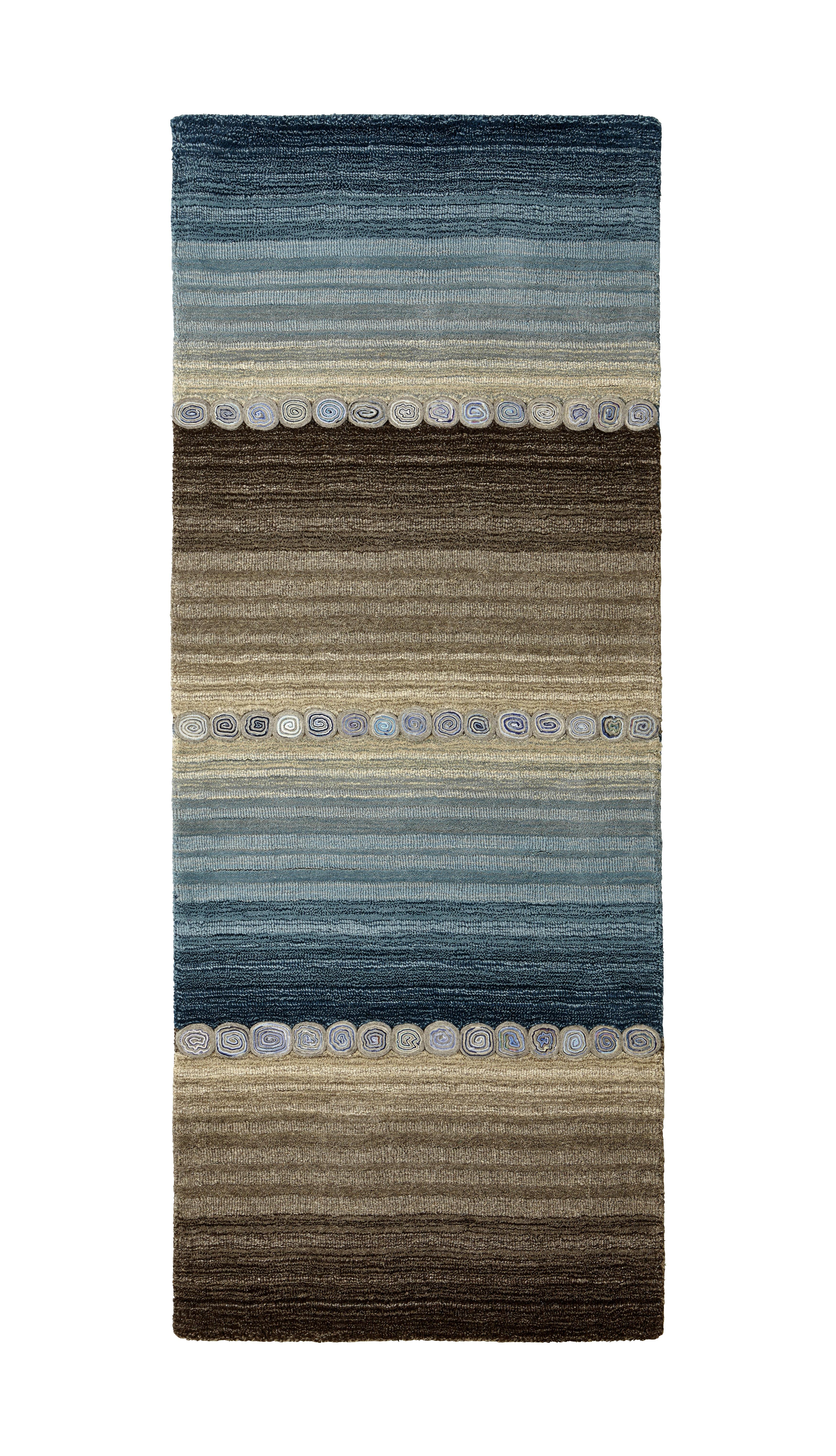 Levně Esposa ORIENTÁLNÍ KOBEREC, 80/300 cm, modrá, šedá - modrá, šedá