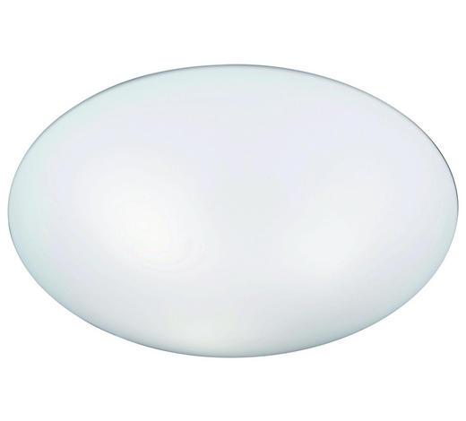 Deckenleuchte - Weiß, Konventionell, Glas (42cm) - Novel