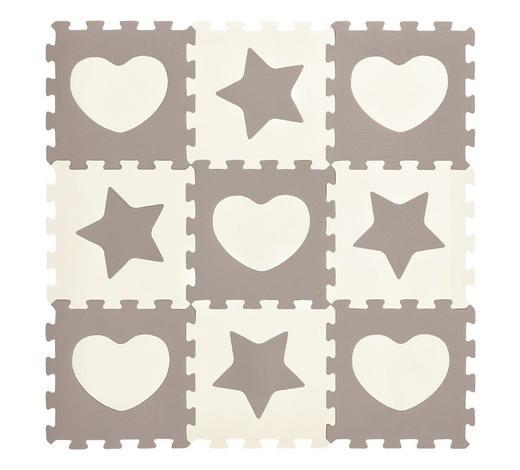 PUZZLE - šedá/bílá, Basics, umělá hmota (32/32/1cm) - My Baby Lou