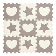 PUZZLE - Weiß/Grau, Basics, Kunststoff (32/32/1cm) - My Baby Lou